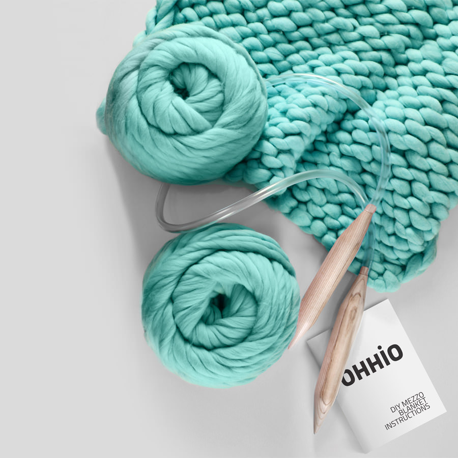 Diy Chunky Knit Blanket Materials
