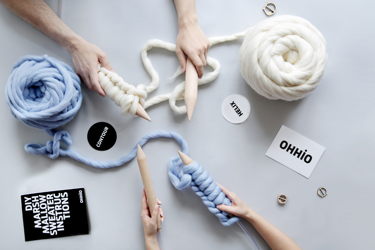 Contour — Chunky Wool Yarn by Ohhio