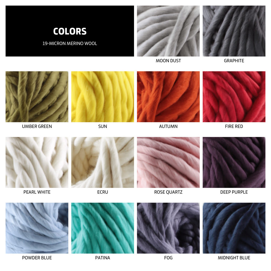 merino wool colors