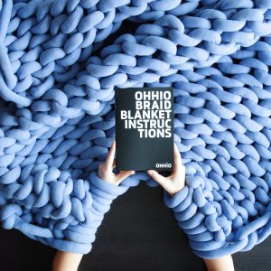 Ohhio Braid DIY Kit Blanket