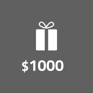 Digital Gift Voucher — $1000