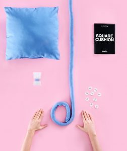 Square Ohhio Braid Cushion DIY Kit