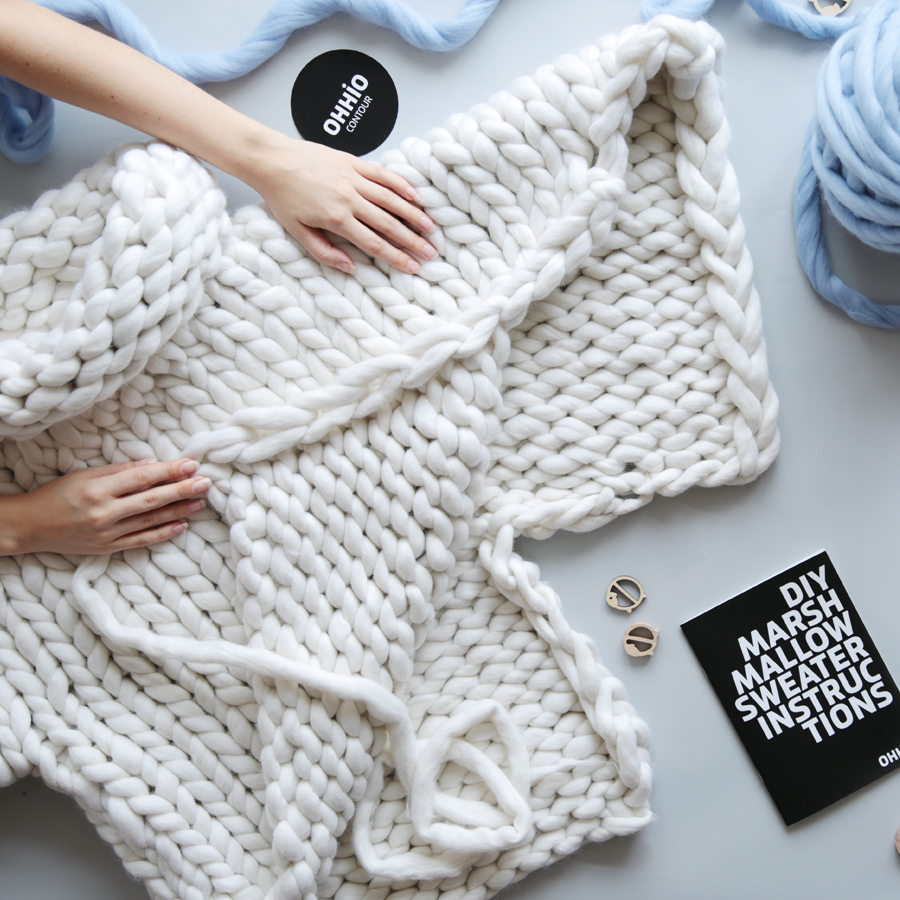 Marshmallow Sweater DIY Instructions (cover)