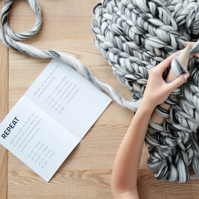 Mezzo Blanket DIY Instructions (cover)